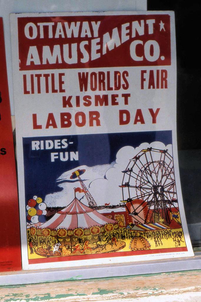 """1. """"Kismet's Little World's Fair."""""""