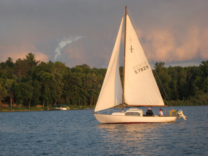 8. The surrounding area is a great place for boating and sailing.