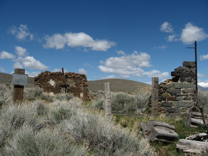 15. Ruins in Unionville, Nevada.