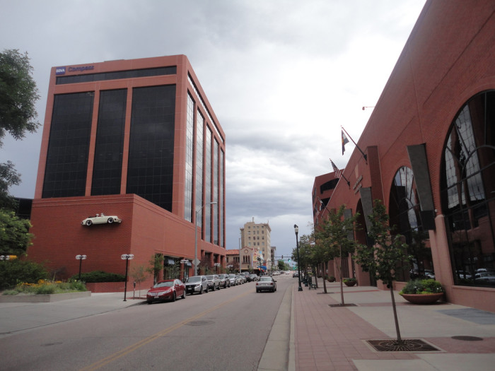 8. Southern Downtown Colorado Springs.