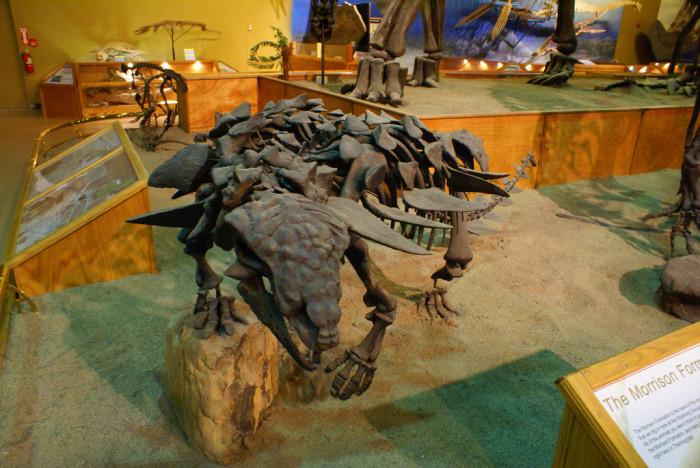 1. Wyoming Dinosaur Center