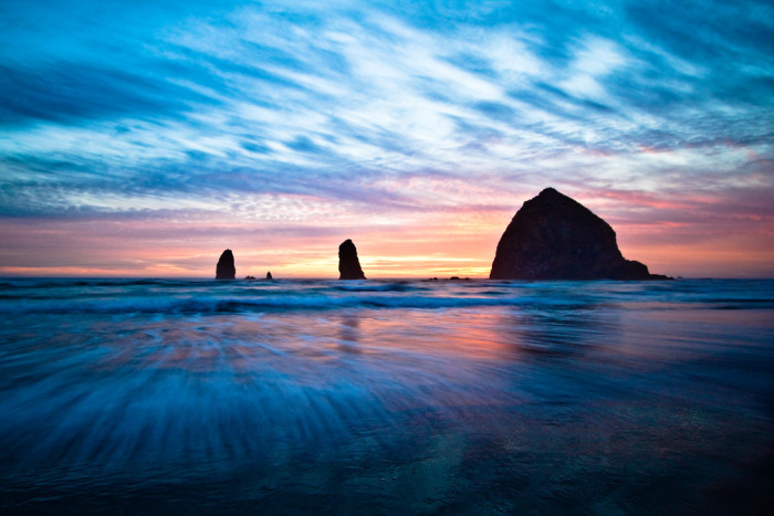 17. The Oregon coast is absolutely amazing, and the beaches are all public.