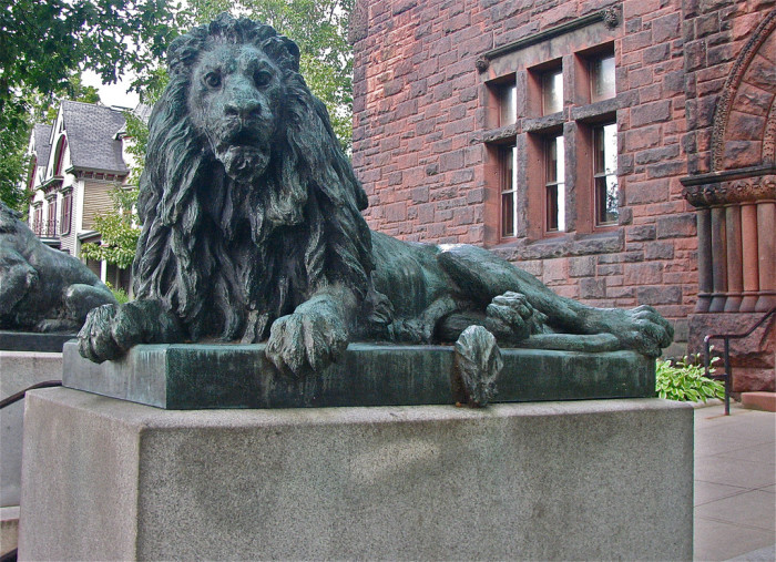 7.  Is this Aslan from Narnia?