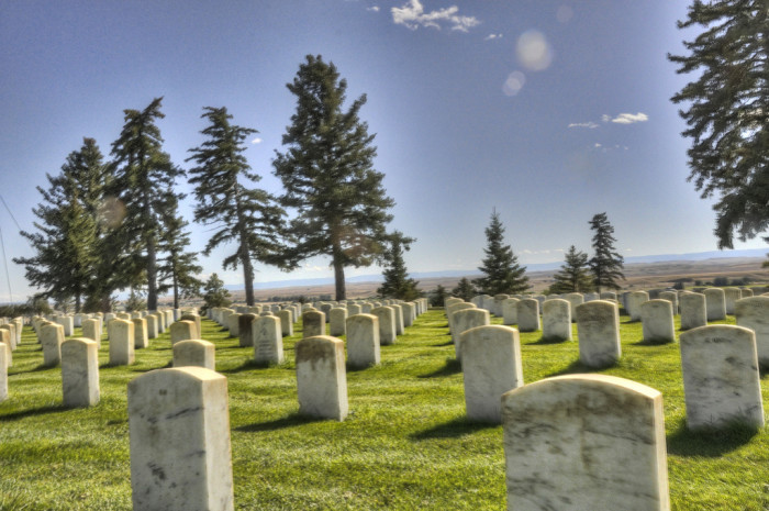 26. Montana: Little Bighorn Battlefield