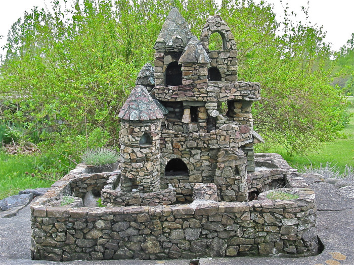 19.  Harry Barber's Miniature Castles are thrilling.