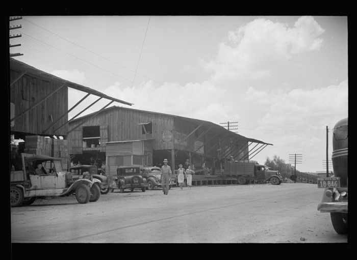 5. During the 1930s, several factories were opened in Mississippi as cities began to focus on economic development. This particular factory was located in Terry.