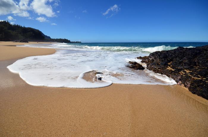 5) Makua Beach