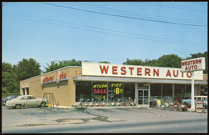 5) Western Auto, most likely in Nashville