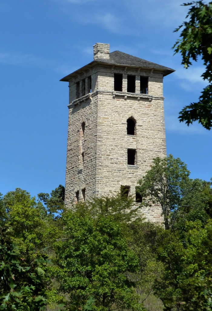 5.	This could be Rapunzel's tower.