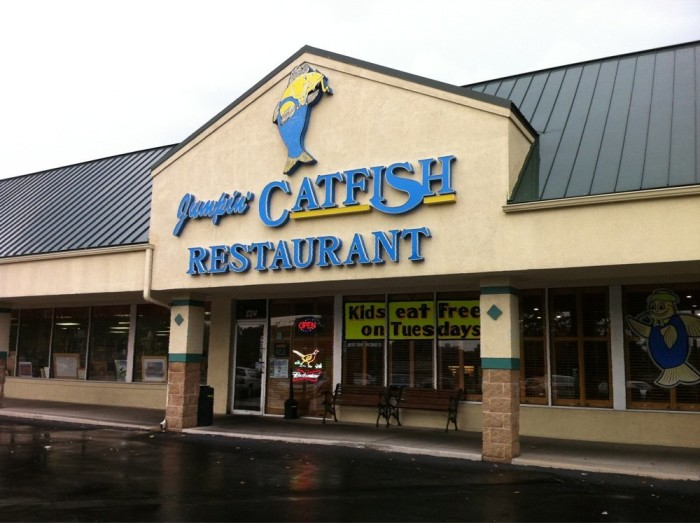 5.	Jumpin' Catfish, Lee's Summit