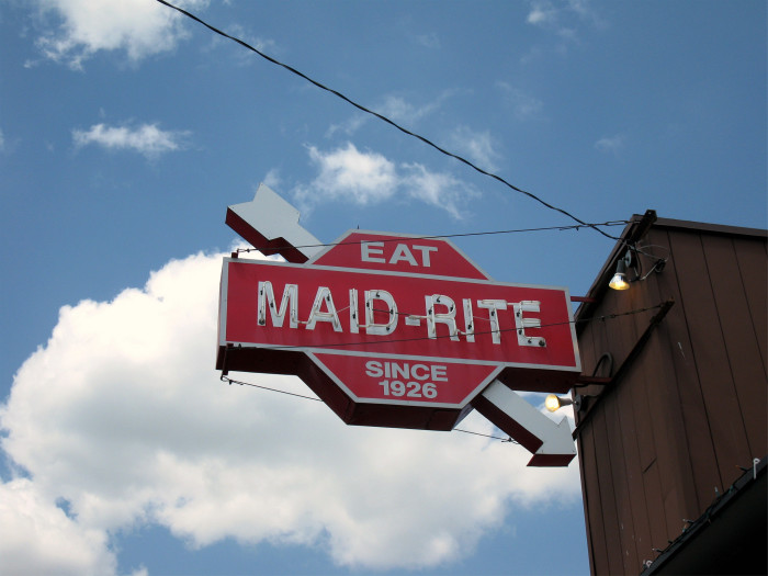 """5. """"I've never eaten at a Maid Rite."""""""