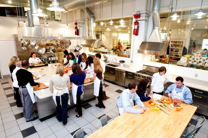 5. Take a cooking class from the professionals at the Viking Cooking School in Greenwood.