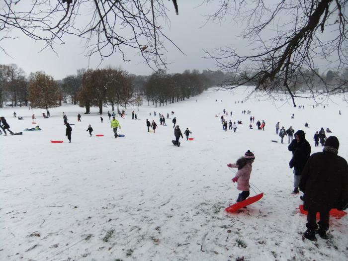 7. Leo J. Martin Golf Course, 190 Park Road, Weston. Plenty of terrain for sledding, tubing, and general snowy fun.