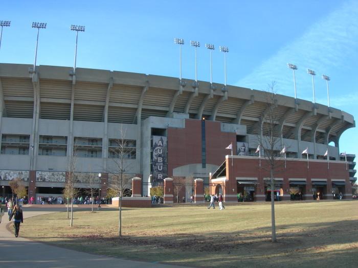 and Jordan-Hare Stadium.