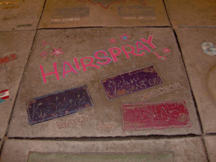 2) Hairspray