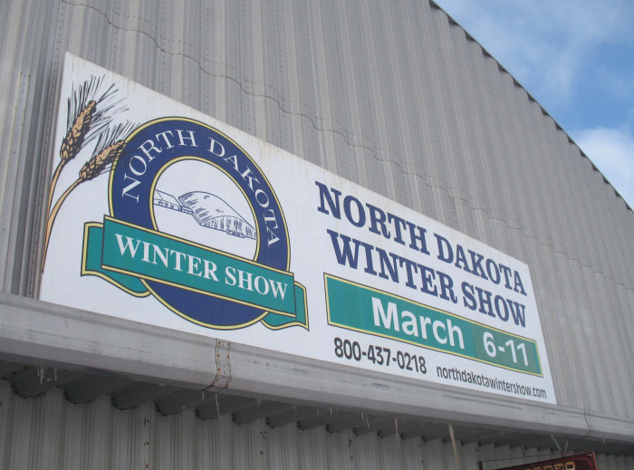 5. North Dakota Winter Show in Valley City, North Dakota held in early March