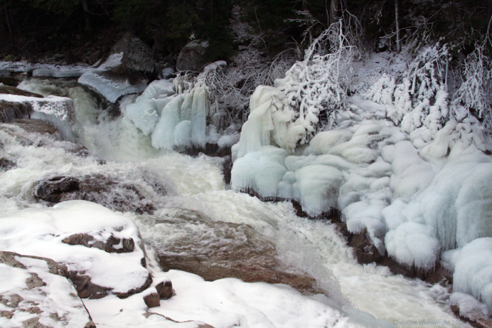 6. This icy river.