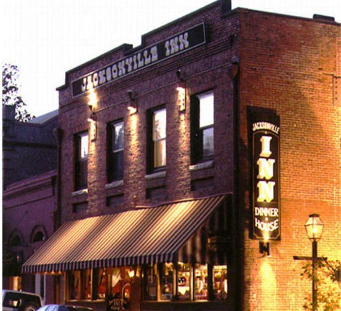 6. Jacksonville Inn Restaurant.