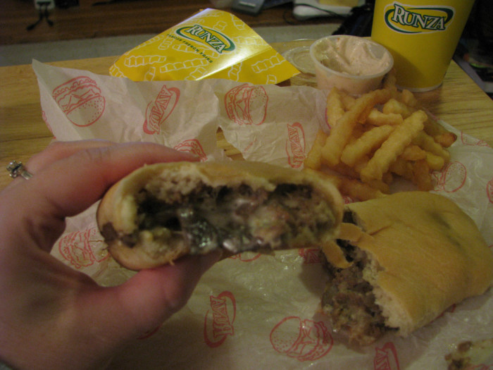 5. And while we're on the subject of food, Runza isn't the perfect fast food to everyone.