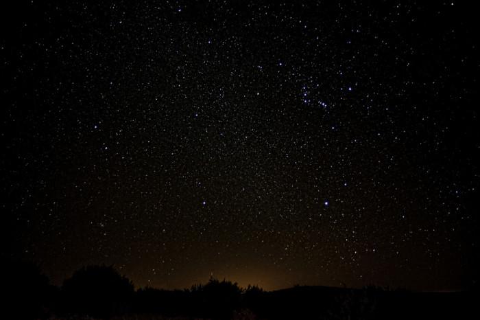 11. Go stargazing.
