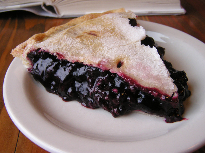 16. Marionberry pie.