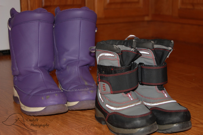 5) A go-to pair of snow boots.