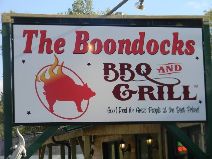 9. The Boondocks BBQ & Grill (McConnelsville)