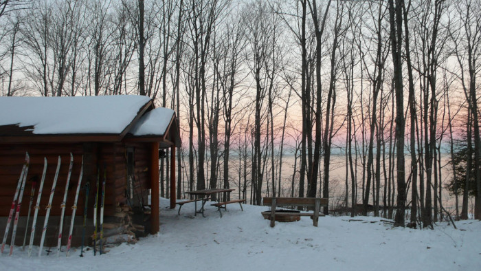 2) Camping in the Porcupine Mountains