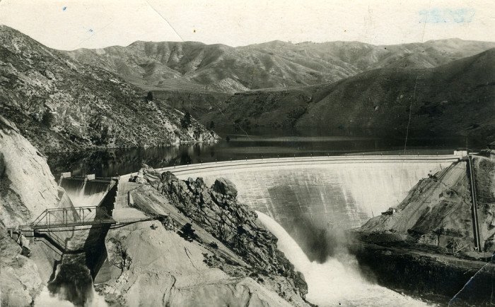 2. Arrowrock Dam on the Boise River, 1915