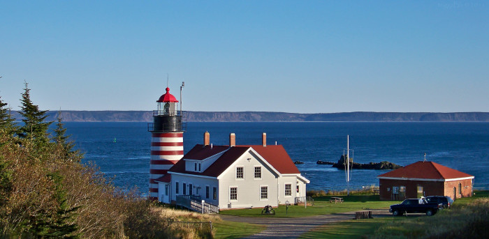 6. ...And West Quoddy Head on a sunny spring day.