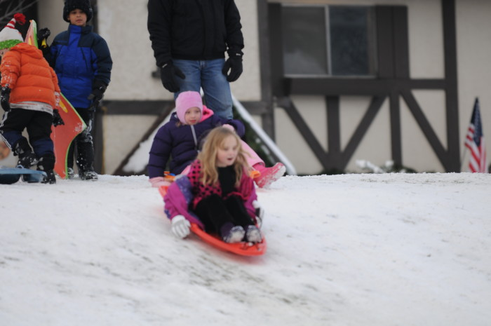 10. If it snowed during the winter, we could go sledding.