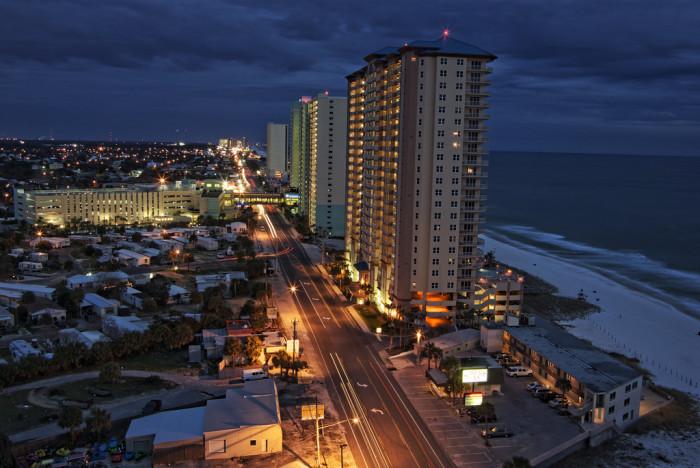 4. Panama City Beach isn't too shabby, either.