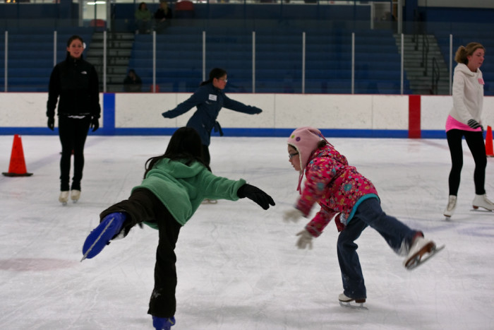 1. Try out your ice skating skills at your local indoor or outdoor rink.