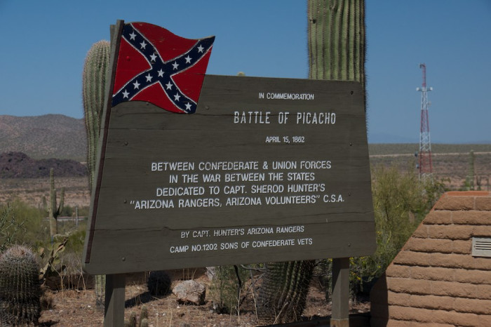 1. In 1861, areas now part of southern Arizona and New Mexico were declared to be part of the Confederate States, which was passed and proclaimed by the Confederate Congress the following year.