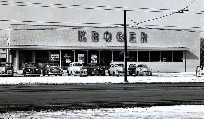 6. Kroger store in 1950 (Clitonville, OH)