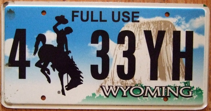 """4. If they refer to the horse on their license plate as """"Old Steamboat""""."""