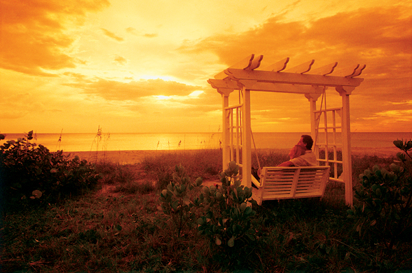 6. This photo of Captiva Island shows why Florida could be the most romantic states in the country.