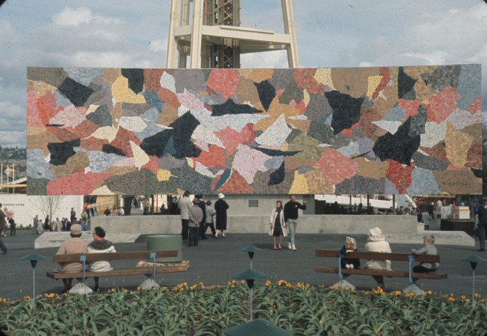 10. The Mural Amphitheater was also constructed for the fair in 1962. Illustrated by renowned artist Paul Horiuchi, it now serves as a well-known venue for concerts, festivals and events.