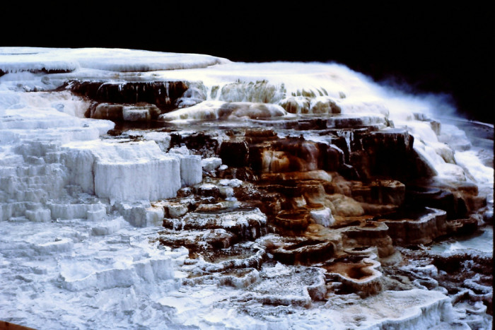 6. Mammoth Hot Springs