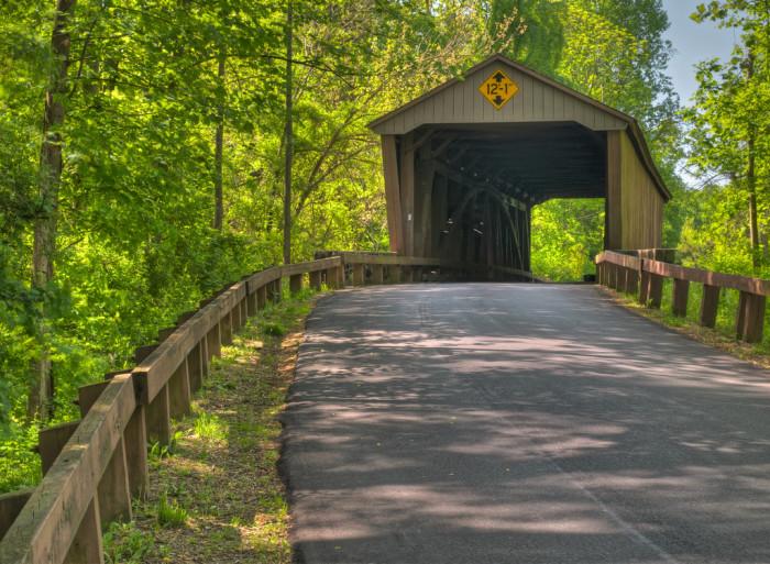 2) Jericho Covered Bridge, Kingsville