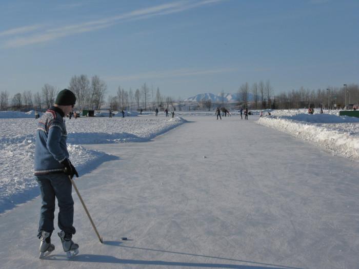 7) Go ice-skate!