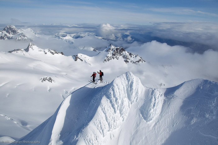9) Hey, it's Alaska, and for an Alaskan, any ol' mountain top will do.