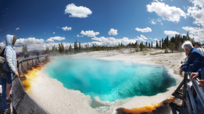5. Black Pool, West Thumb Geyser Basin, Yellowstone National Park