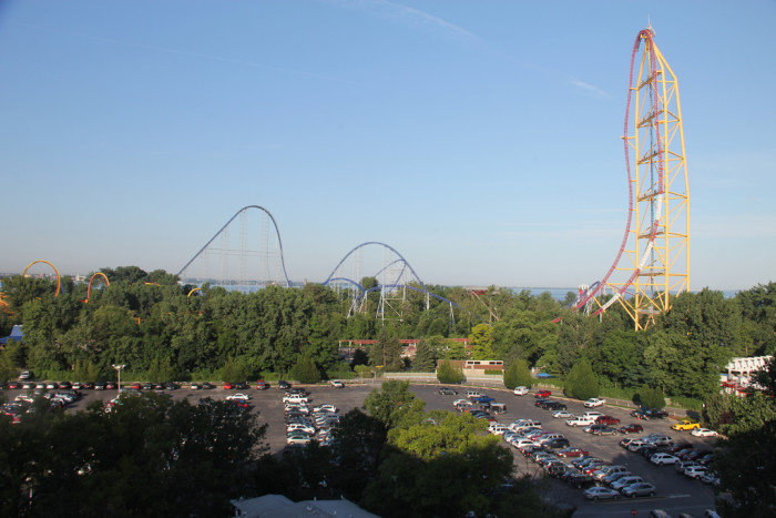 X is for e(X)treme roller coasters.