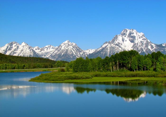 7. Grand Teton National Park