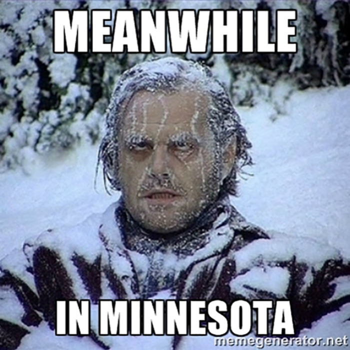 9. February 2, 1996 - The coldest temperature in Minnesota history was recorded in Tower. -60F