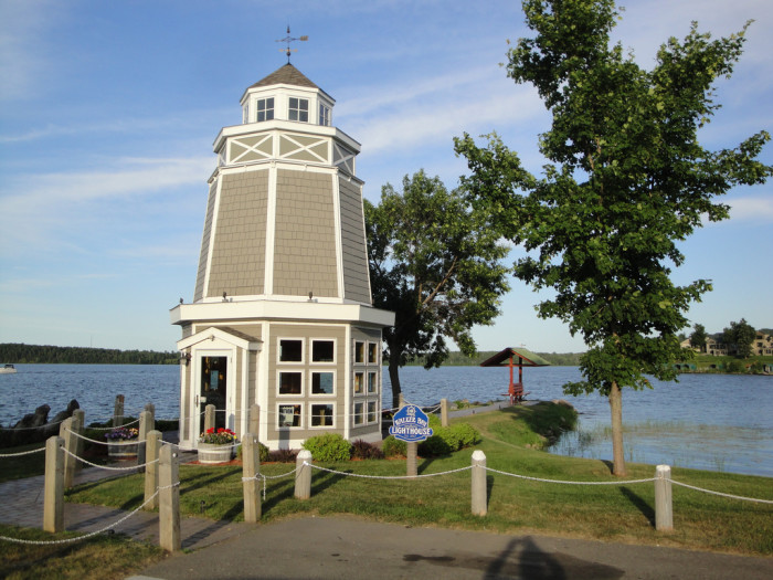 5. Not to mention, the town is on the water of Minnesota's 3rd largest lake, and the bay is the perfect place to spend a summer day.