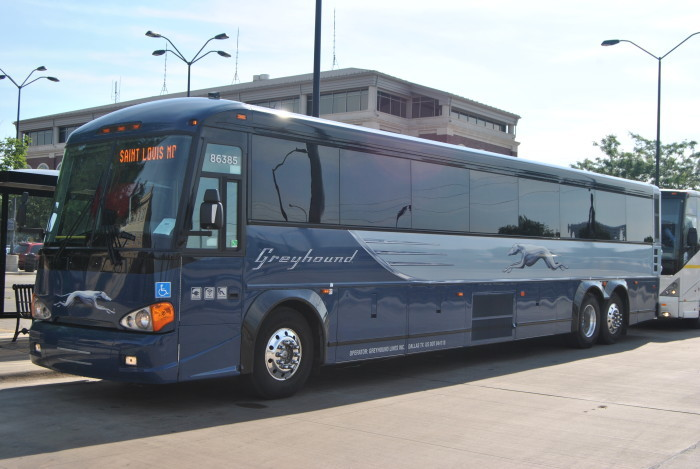 25. Greyhound Buses (Bus Industry)...