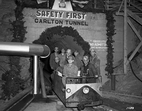 "1. ""Carlton Tunnel / 8 at portal."""