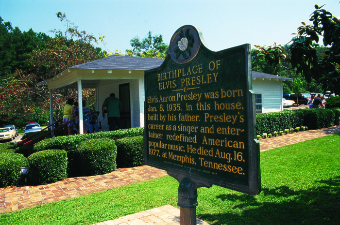 6. Mississippi is the birthplace of the Blues and Elvis Presley – both of which greatly impacted the world of music.